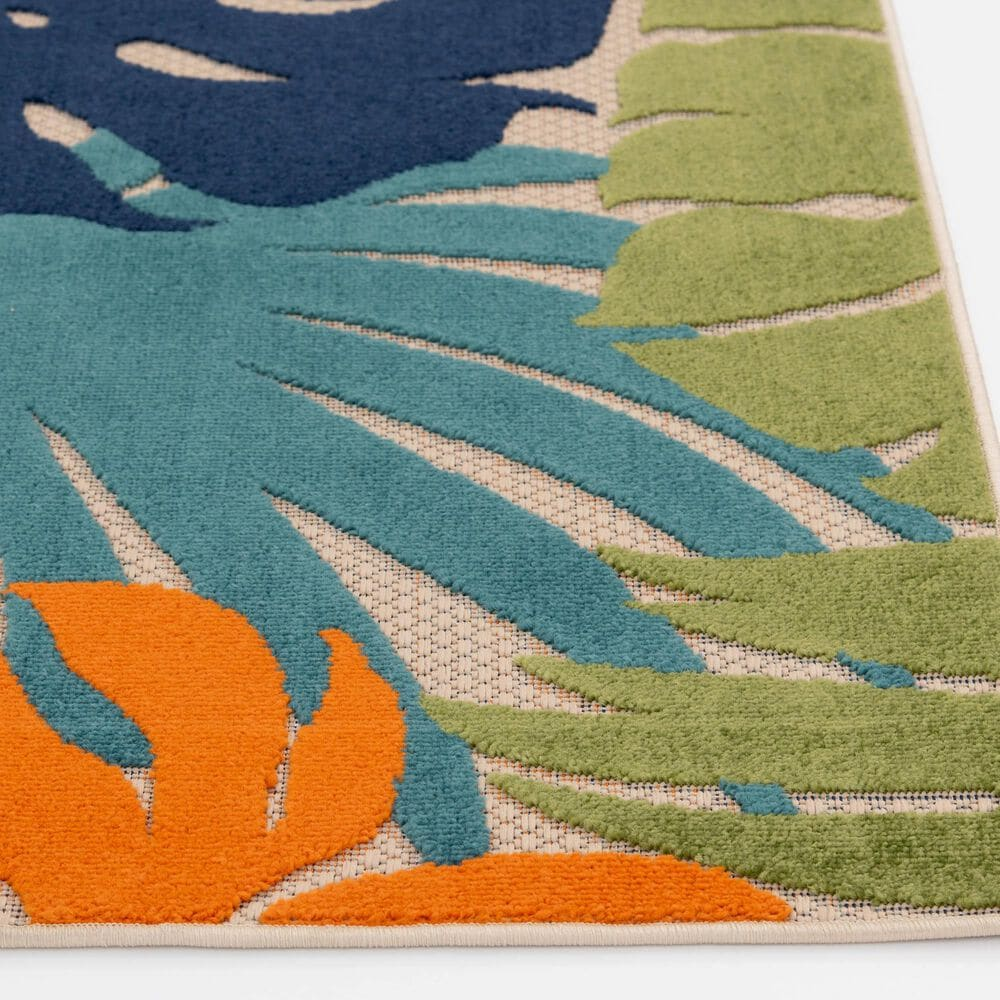 """Central Oriental Fontana Halona 1659.04 2'2"""" x 3' Cream and Green Area Rug, , large"""