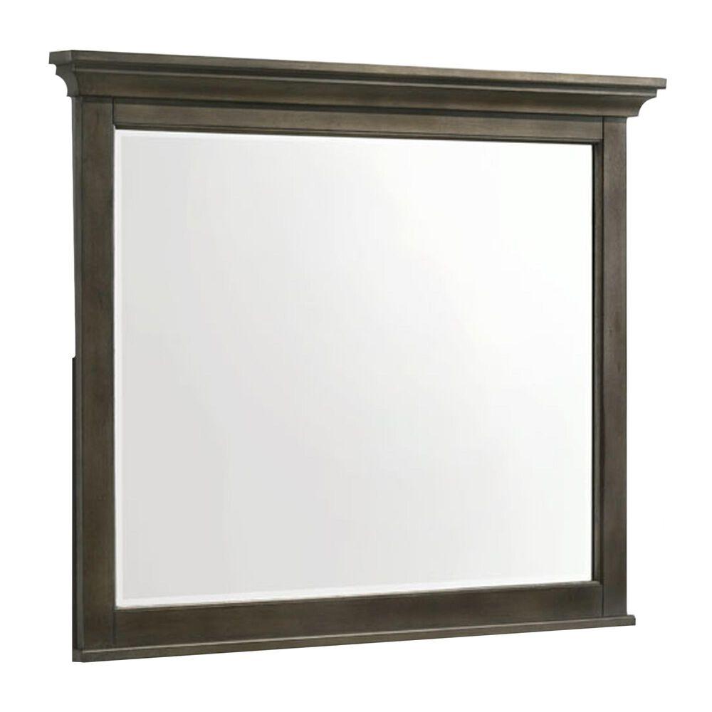 Hawthorne Furniture San Mateo Dresser Mirror in Gray, , large