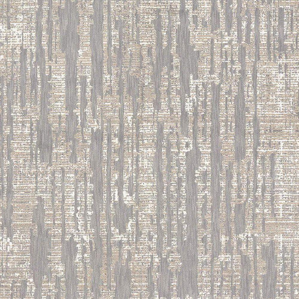 Karastan Soiree Matrix 91967-90116 2' x 3' Grey Area Rug, , large