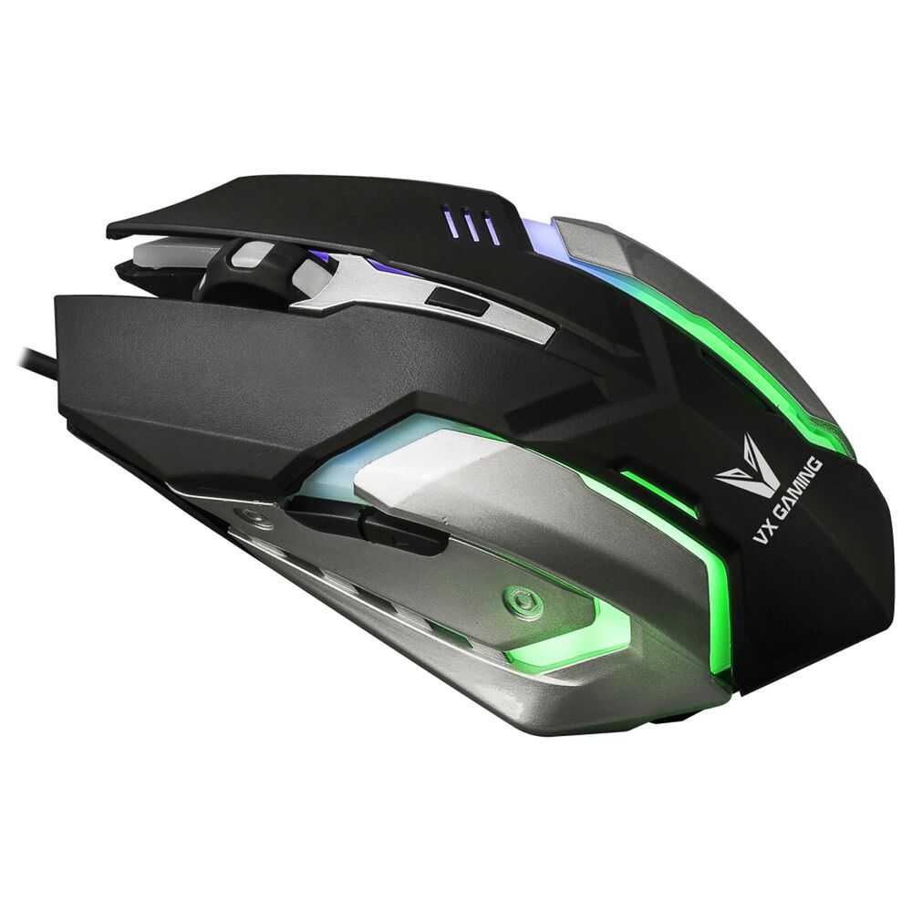 Volkano VX Gaming Ranger Gaming Mouse in Black and Silver, , large