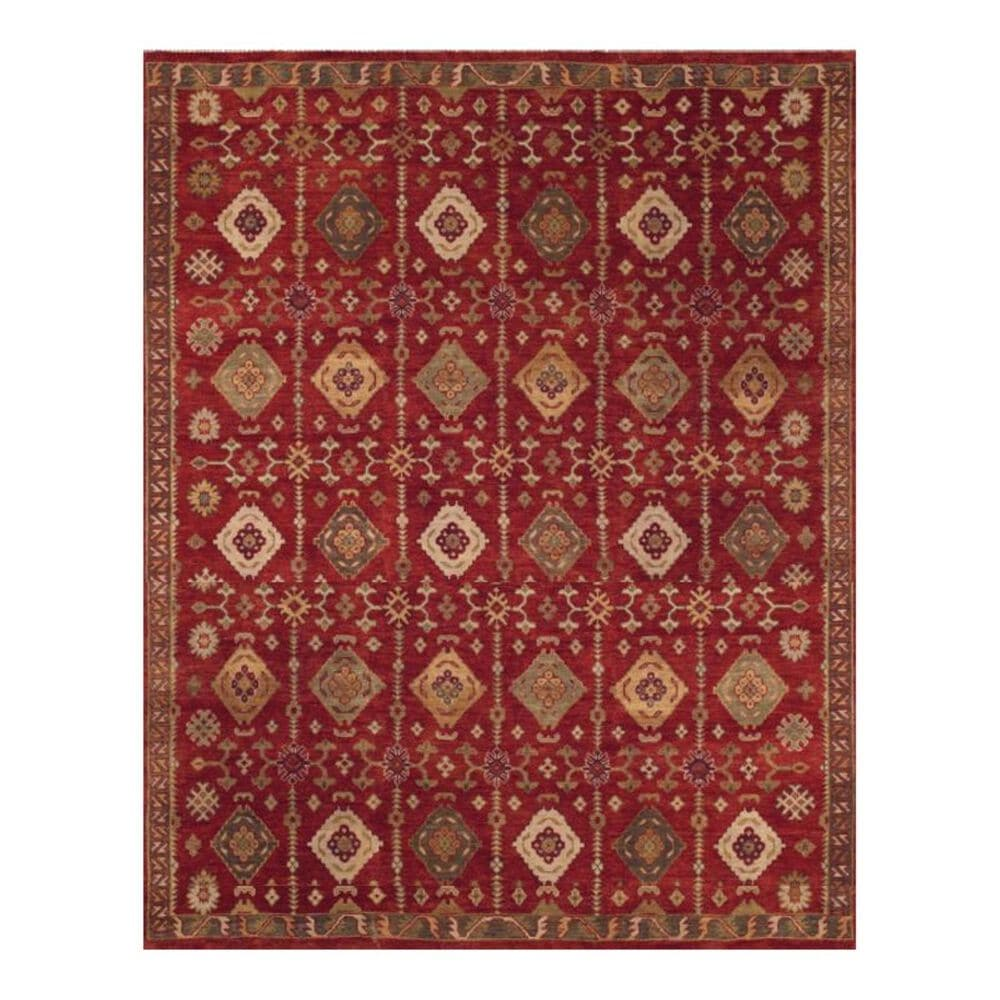 Feizy Rugs Ashi 6129F 2' x 3' Red Scatter Rug, , large