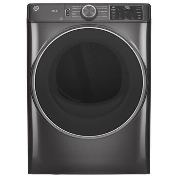GE Appliances 7.8 Cu. Ft. Electric Dryer - Diamond Gray, , large