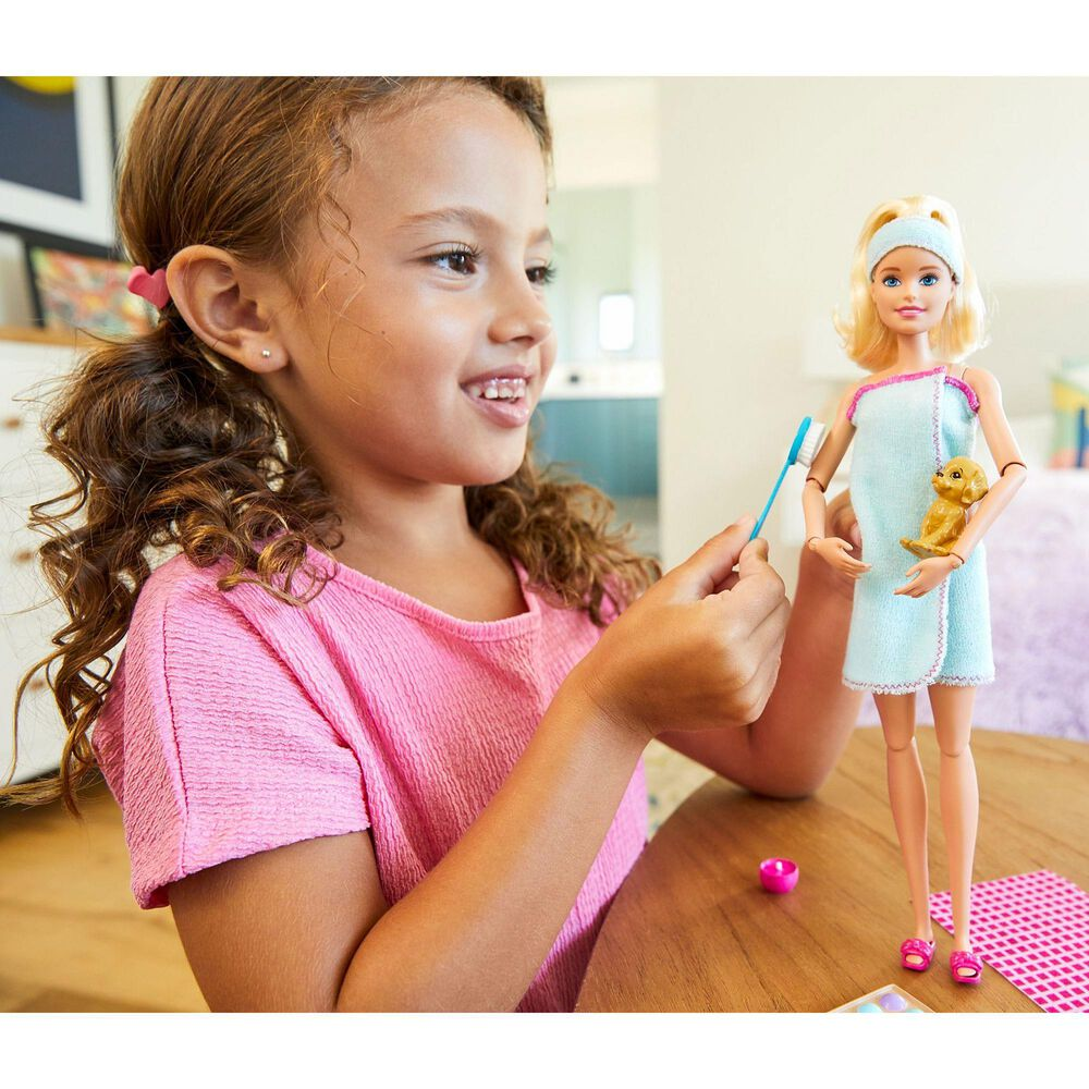 Mattel Barbie Spa Day Blonde Playset, , large