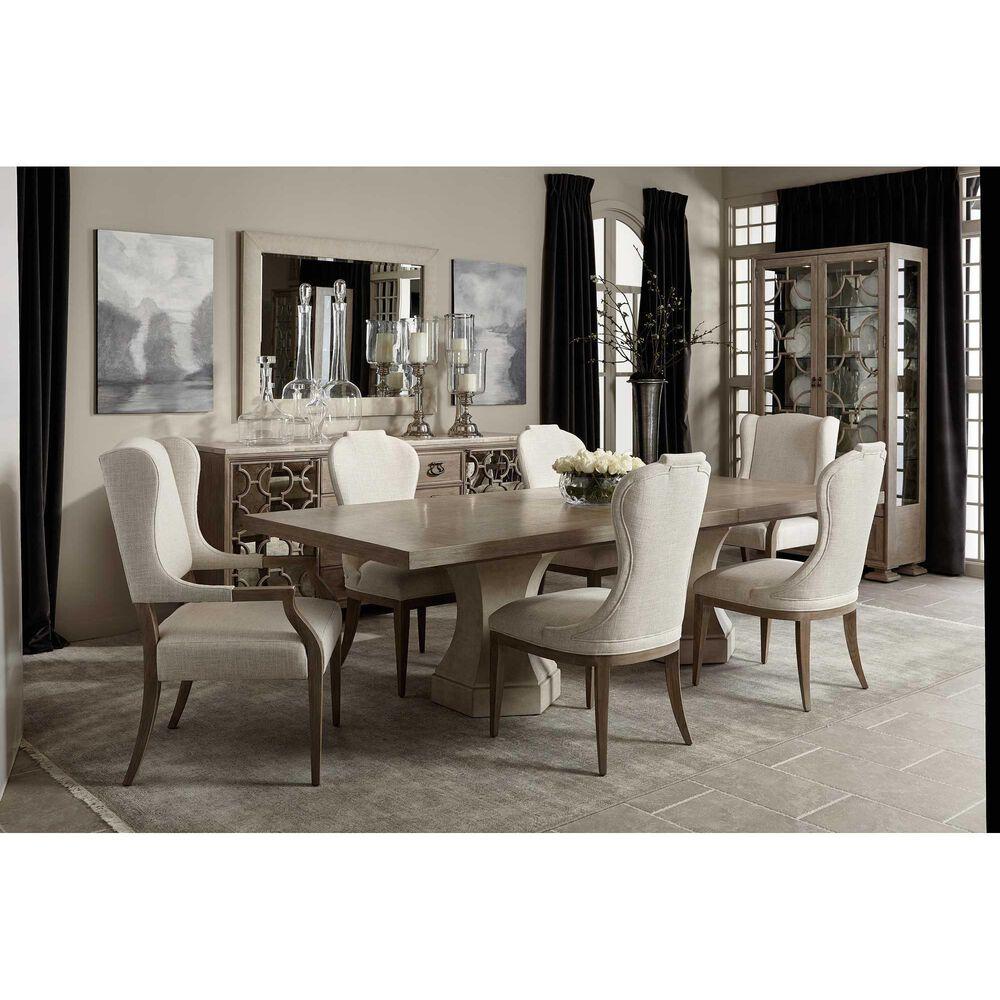 Bernhardt Santa Barbara Upholstered Side Chair in Sandstone, , large