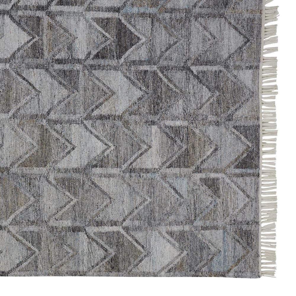 Feizy Rugs Beckett 0813F 8' x 10' Gray Area Rug, , large