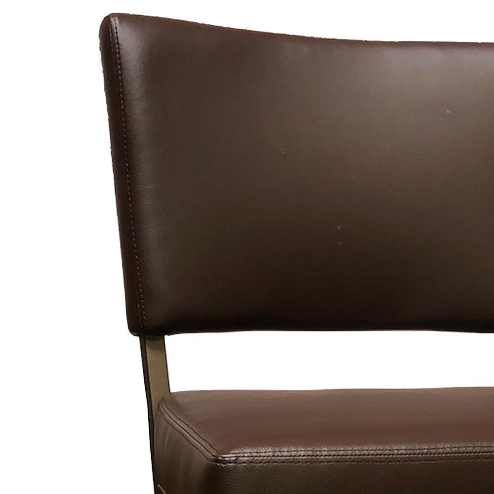 """Delaware Dining Malibu 26"""" Swivel Barstool in Sun Bronze/Dark Brown, , large"""