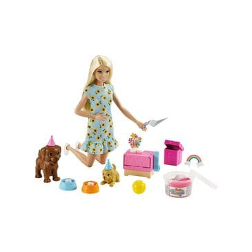 Barbie Puppy Party Playset, , large