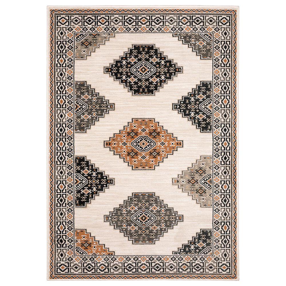 "Oriental Weavers Georgia Southwest 640A0 9""10"" x 12""10"" Ivory Area Rug, , large"