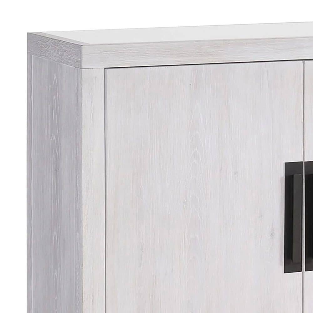 Furniture Worldwide Blair Credenza in Weathered Gray, , large