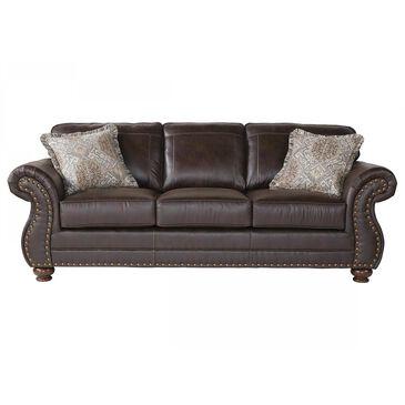 Hughes Furniture Stationary Sofa in Ridgeline Brownie, , large