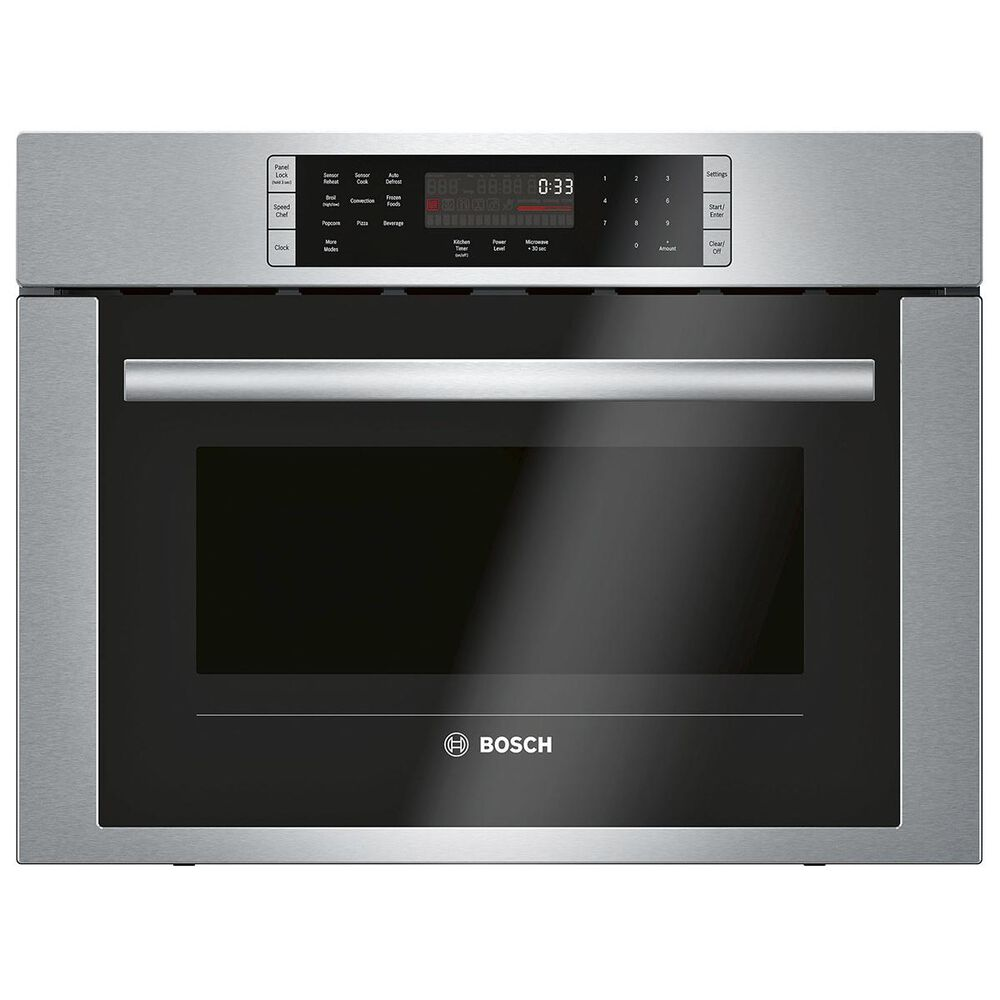 """Bosch 24"""" Speed Microwave Wall Oven in Stainless Steel, , large"""