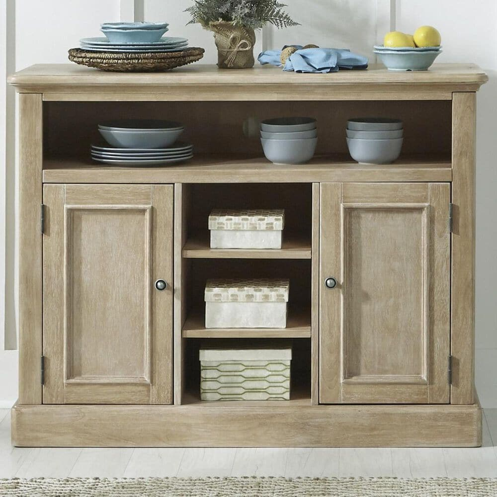 Homestyles Cambridge Buffet in White washed, , large