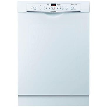 Bosch Ascenta Built-In Dishwasher Front Control in White , , large