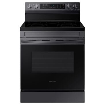 Samsung 6.3 Cu. Ft. Freestanding Electric Range with 5 Burners in Black Stainless Steel, , large