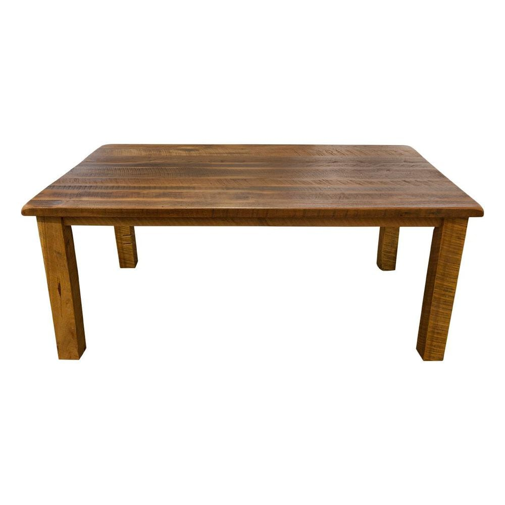 Daniel's Amish Collection Reclaimed Barnwood Dining Table in Barnwood Oak - Table Only, , large
