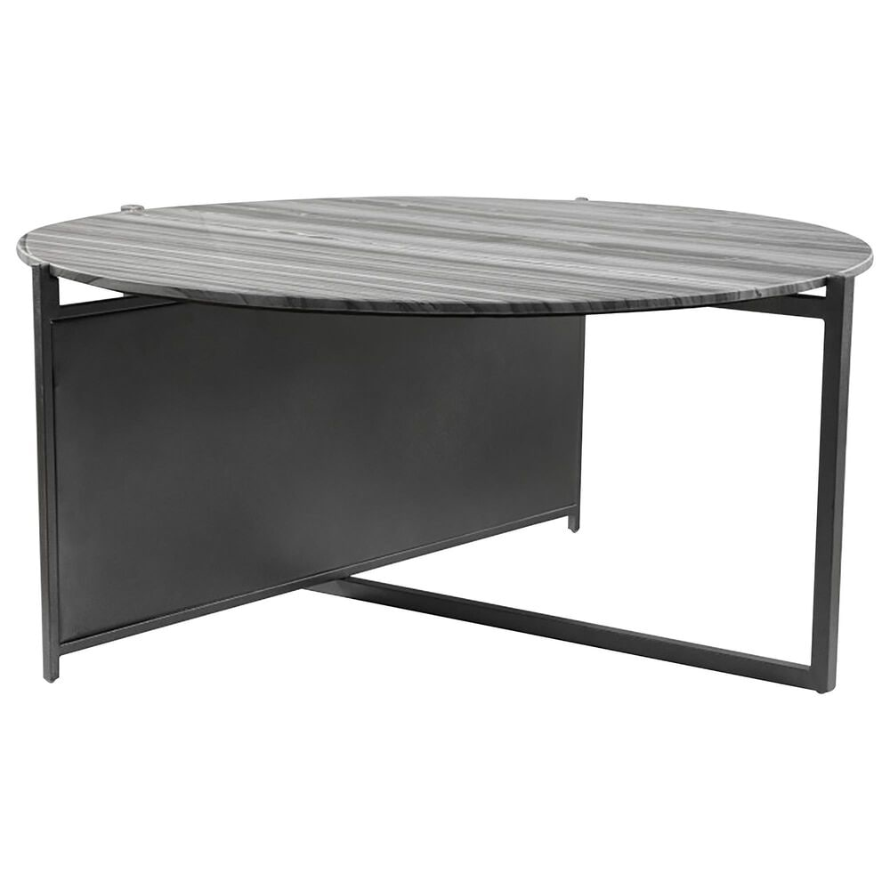 Zuo Modern Mcbride Coffee Table in Gray and Black, , large