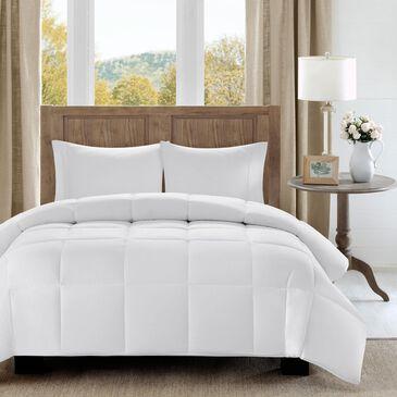 Hampton Park Winfield Full/Queen Down Alternative Comforter in White, , large