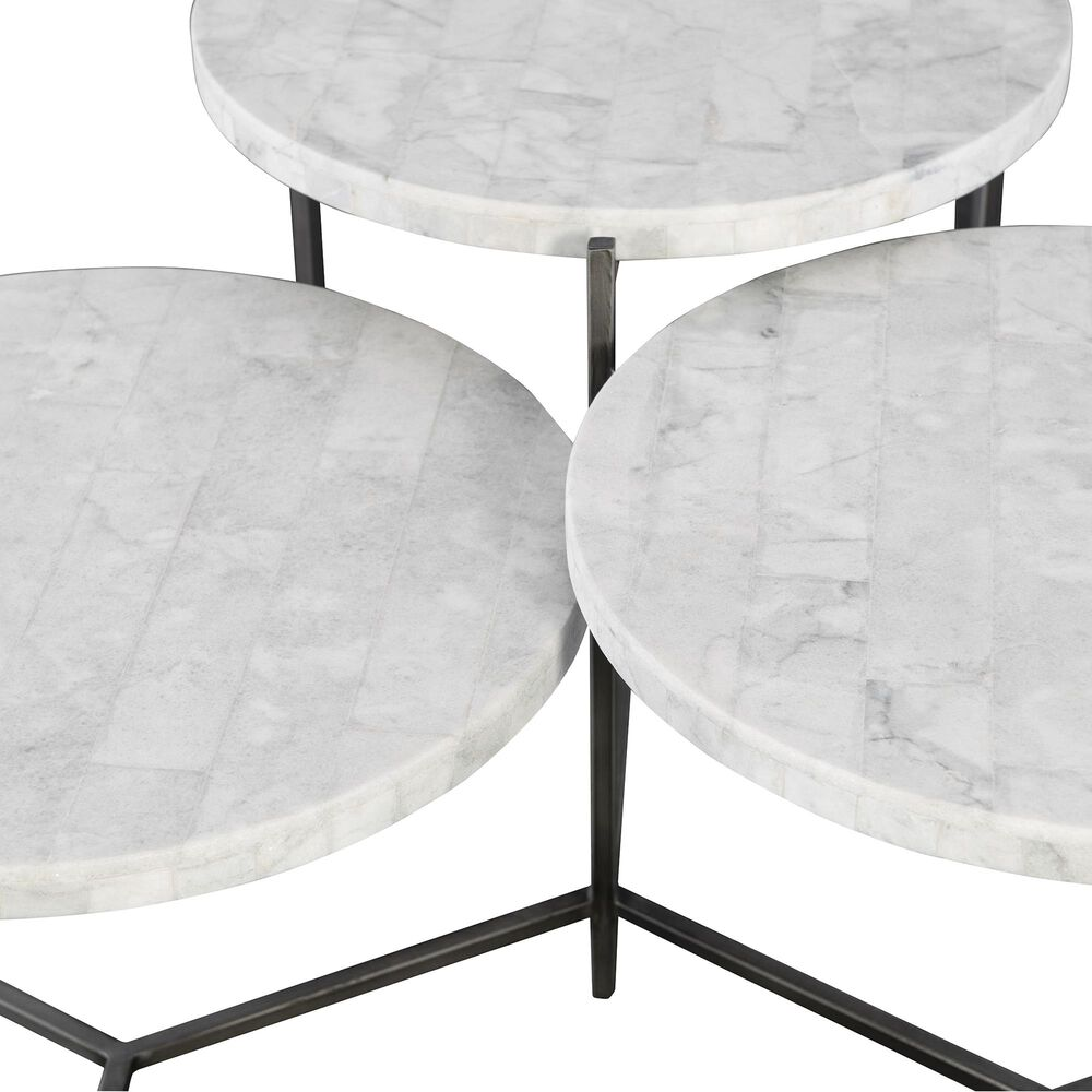 Uttermost Contarini Coffee Table in White , , large