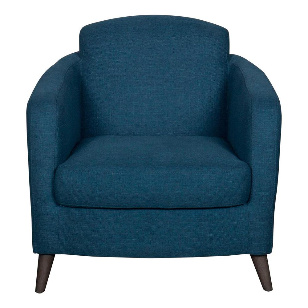 Trend Labs Joline Chair and Ottoman in King Lionel Navy, , large