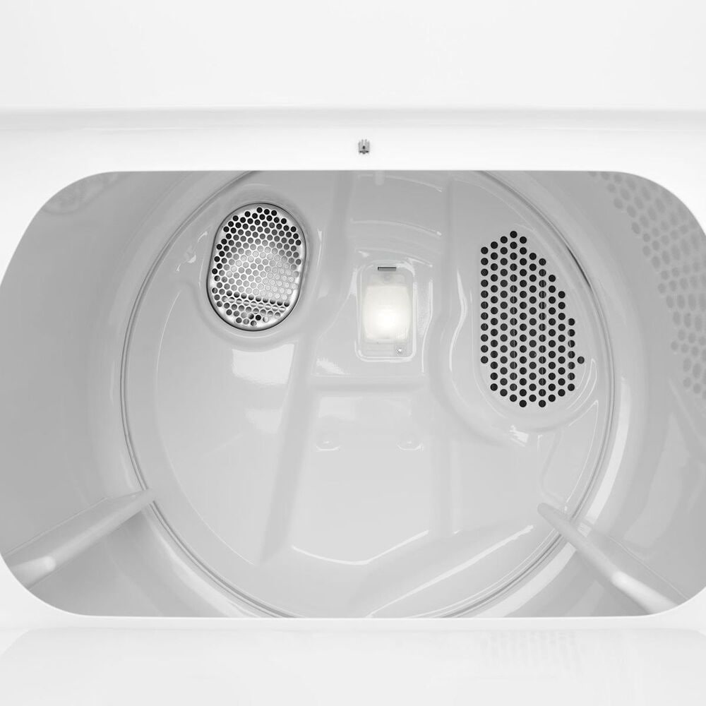 Whirlpool Long Vent Electric Dryer in White, , large