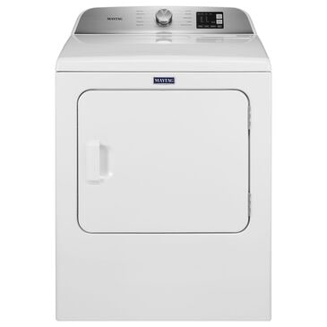Maytag 7 Cu. Ft. Top Load Electric Dryer in White, , large