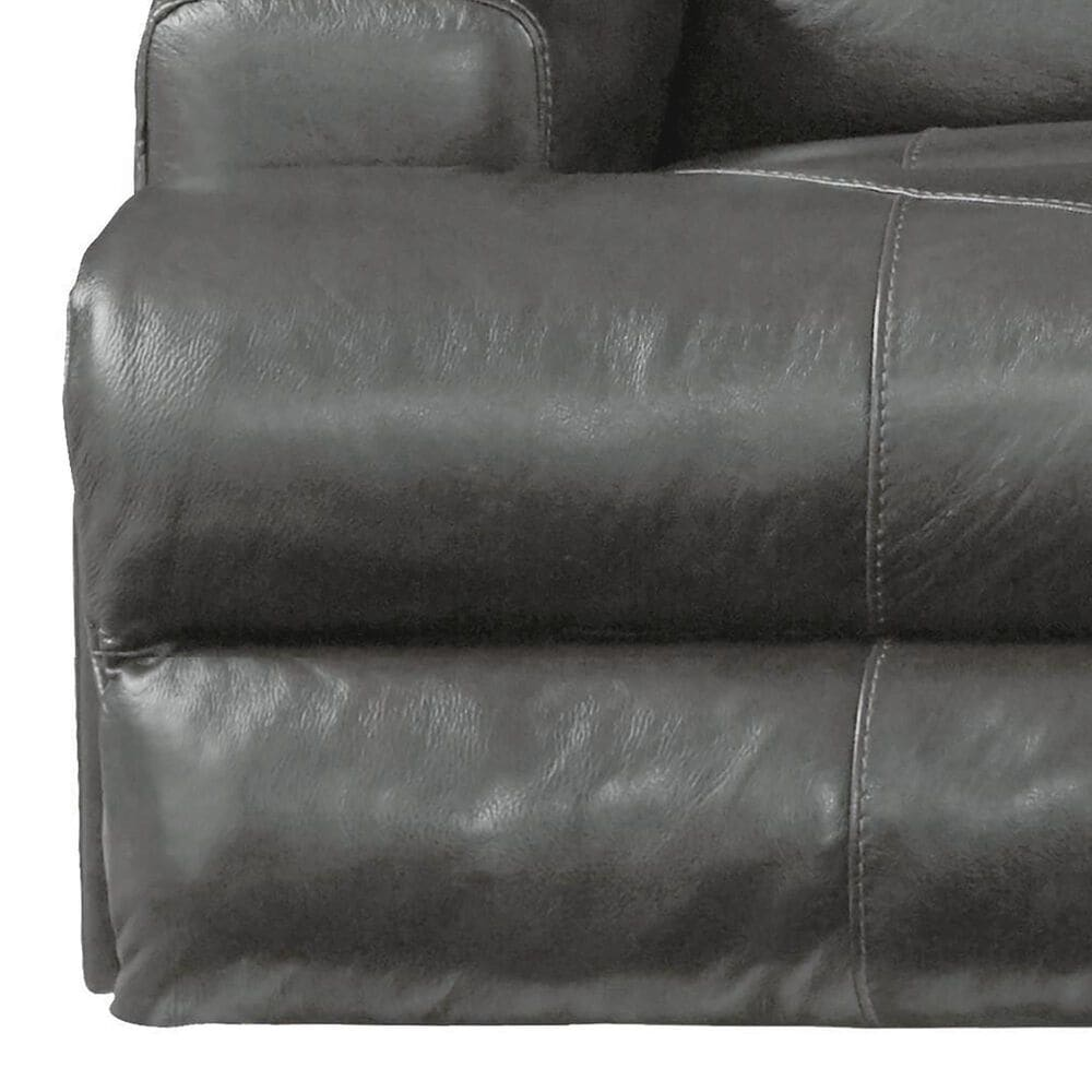Hartsfield Wembley Lay Flat Manual Reclining Sofa in Steel, , large