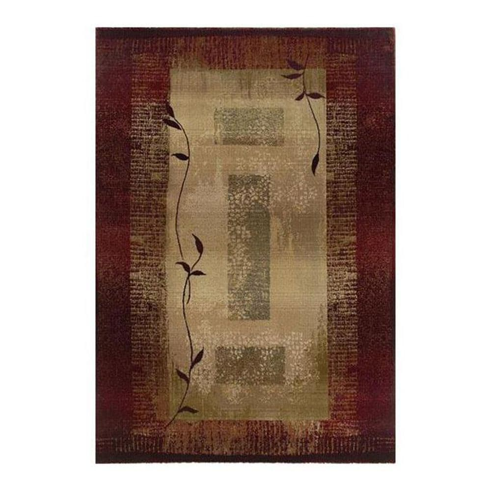 """Oriental Weavers Generations 544X 5""""3"""" x 7""""6"""" Red Area Rug, , large"""