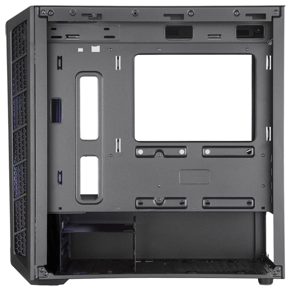Cooler Master MasterBox MB311L ARGB Airflow Micro-ATX Tower with Dual ARGB Fans, Fine Mesh Front Panel, Mesh Intake Vents, Tempered Glass Side Panel & ARGB Lighting System, , large