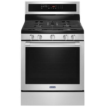 Maytag 5.8 Cu. Ft. Gas Range with Convection in Stainless Steel, , large