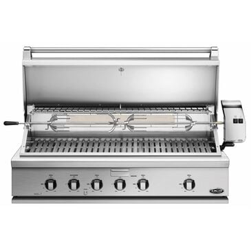"""Fisher and Paykel 48"""" Traditional Natural Gas Grill with Rotisserie in Stainless Steel, , large"""