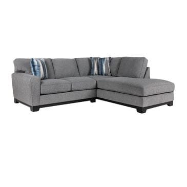 Moda Taurus Choices 2-Piece Sectional in Derby Grey, , large