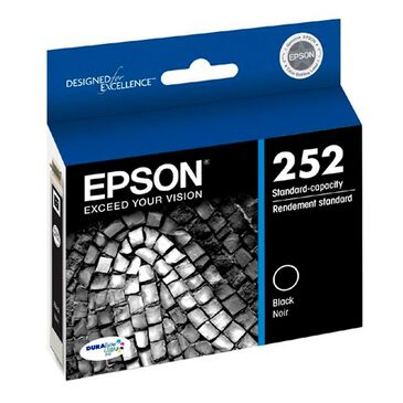 Epson Standard Capacity Black Ink Cartridge Black, , large