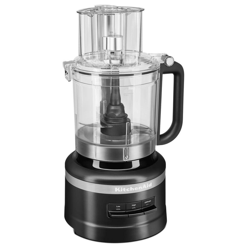 KitchenAid 13-Cup Food Processor in Black Matte, , large