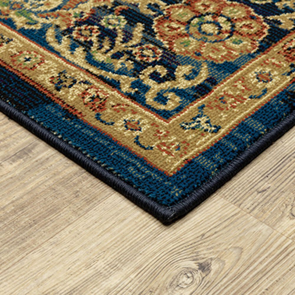"Oriental Weavers Ankara 501K5 9'10"" x 12'10"" Blue Area Rug, , large"