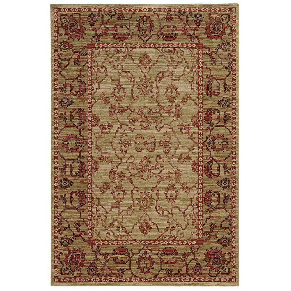 "Oriental Weavers Vintage 4928J 1""10"" x 3""3"" Beige Area Rug, , large"