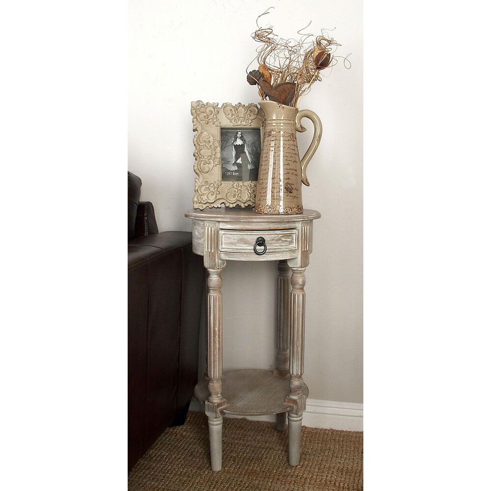 Maple and Jade Accent Table in Light Brown, , large