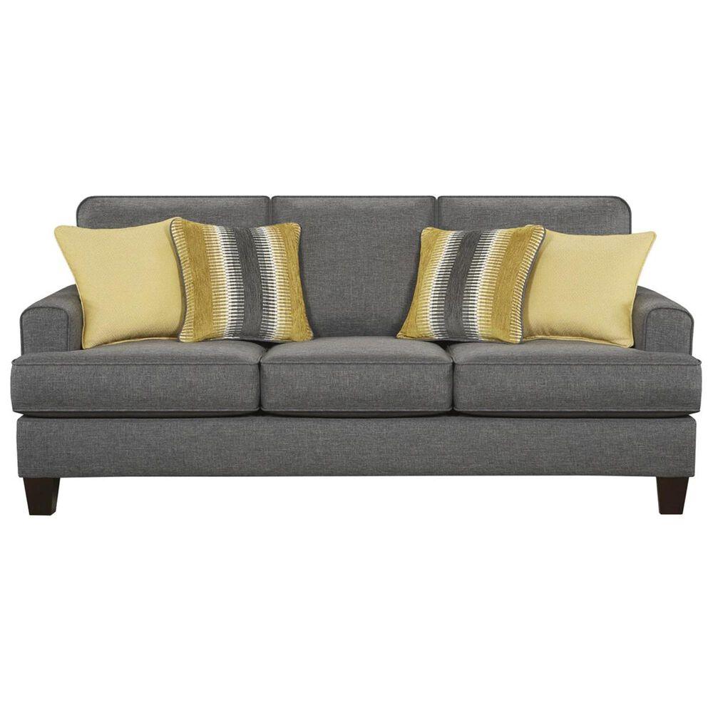 Xenia Maxwell Sleeper Sofa in Gray, , large