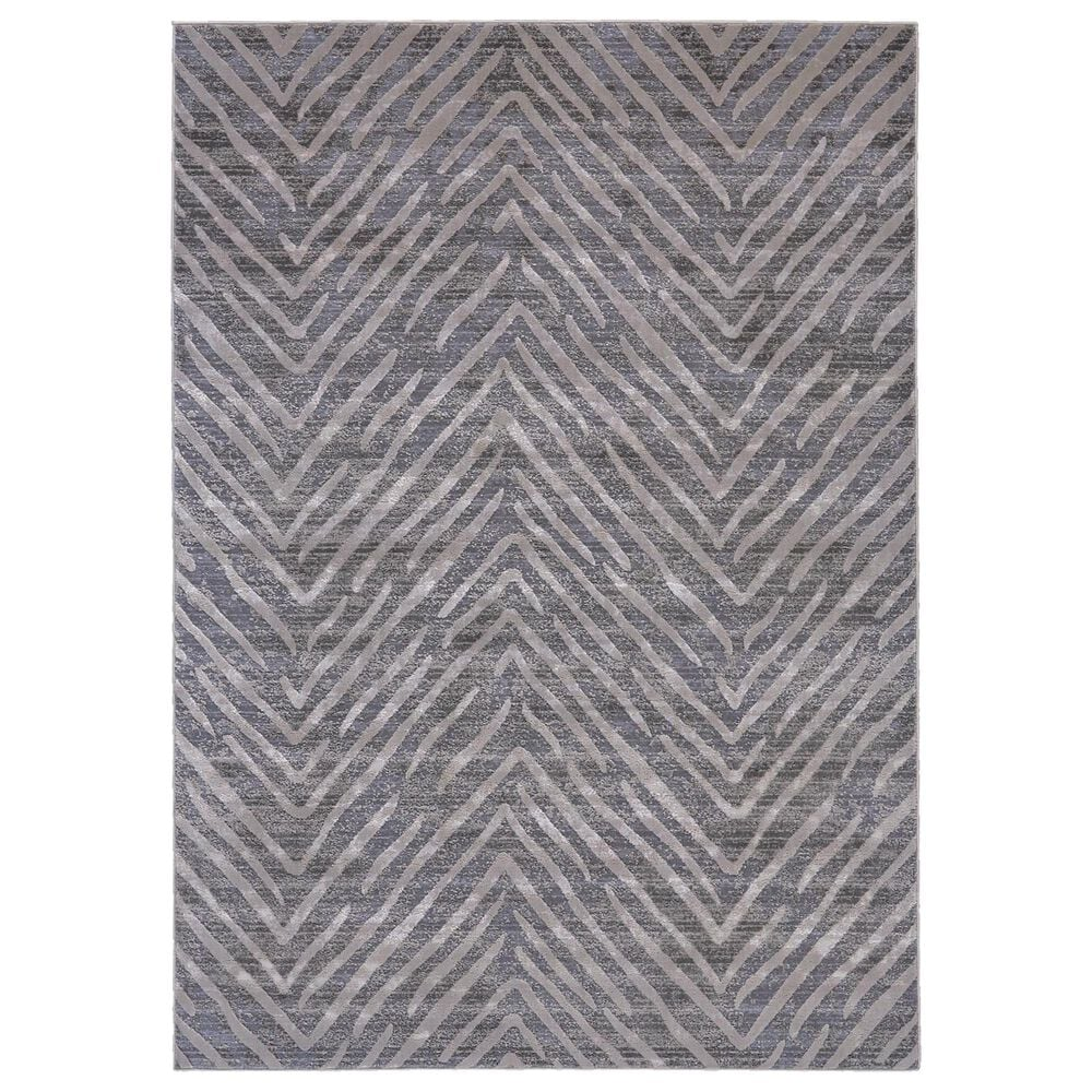 """Feizy Rugs Waldor 3968F 8"""" x 11"""" Gray Area Rug, , large"""