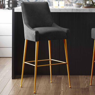 Tov Furniture Beatrix Counter Stool in Black, , large