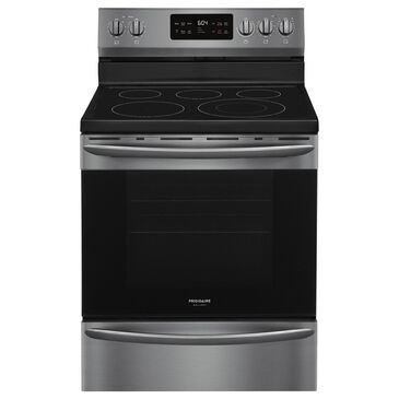 Frigidaire 5.4 Cu. Ft. Ceramic-Top Electric Range in Black Stainless Steel, , large