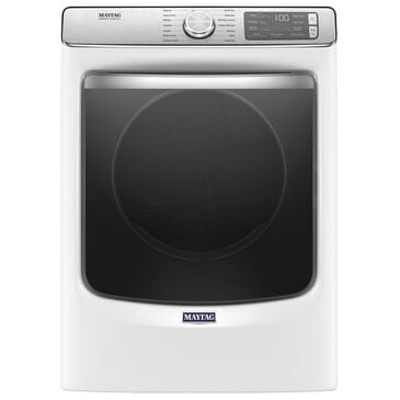Maytag 7.3 Cu. Ft. Electric Dryer with 14 Dry Cycles in White, , large