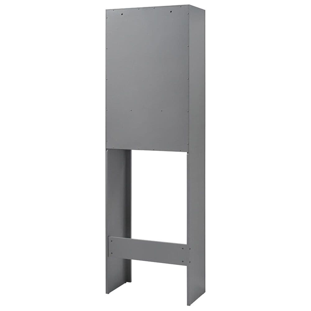 Crosley Furniture Tara Space Saver Cabinet in Grey, , large