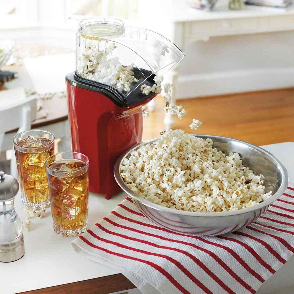 Hamilton Beach Hot Air Popcorn Popper in Red, , large
