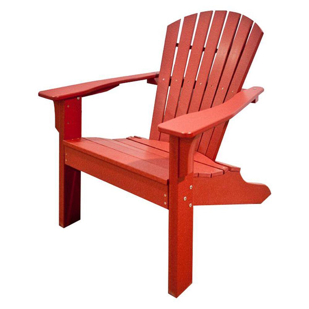 Oceanside Adirondack Shellback Chair in Cherry, , large