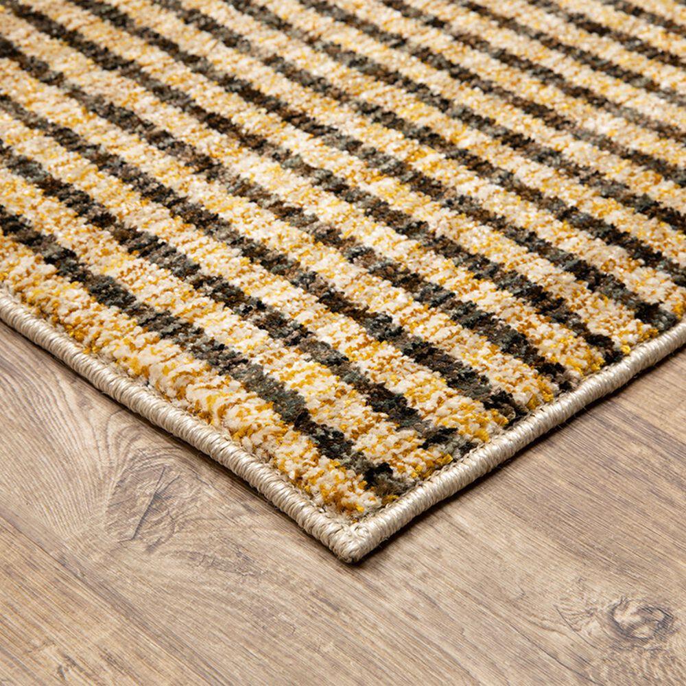 "Oriental Weavers Strada STR10 2'3"" x 8' Gold Runner, , large"