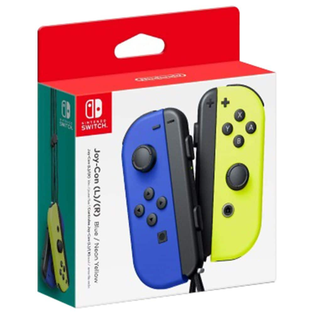 Nintendo Joy-Con Blue (Left) and Yellow (Right) - Nintendo Switch, , large