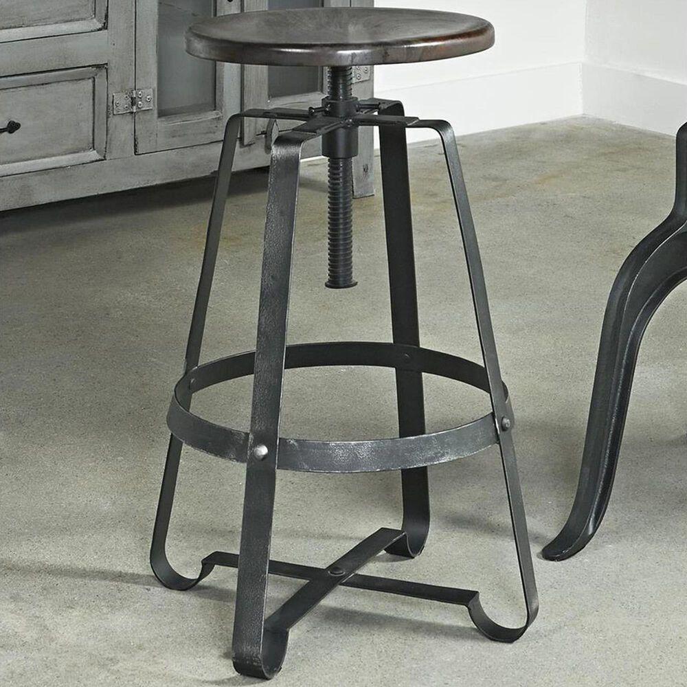 Shell Island Furniture Adjustable Barstool in Kari Graywash, , large
