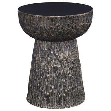 Century Mesa Tempe Side Table in Metallic Bronze, , large