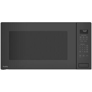 GE Profile 2.2 Cu. Ft. Built-In Sensor Microwave Oven in Dark Gray , , large