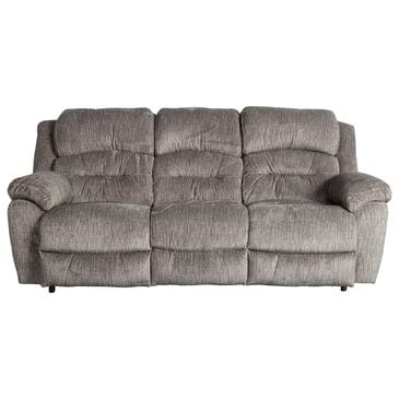 Moore Furniture Bellamy Reclining Sofa in Cement, , large